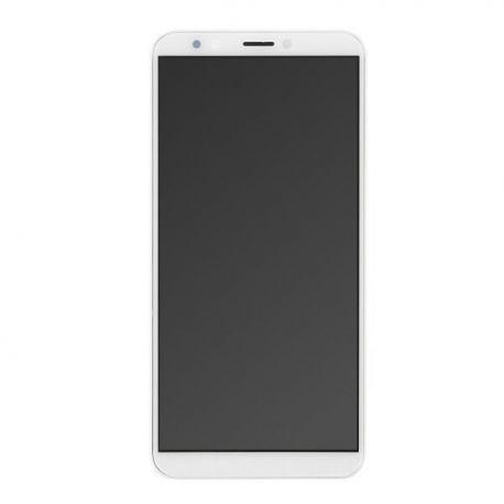 Ecran lcd Huawei Y7 2018 sur chassis blanc sans logo