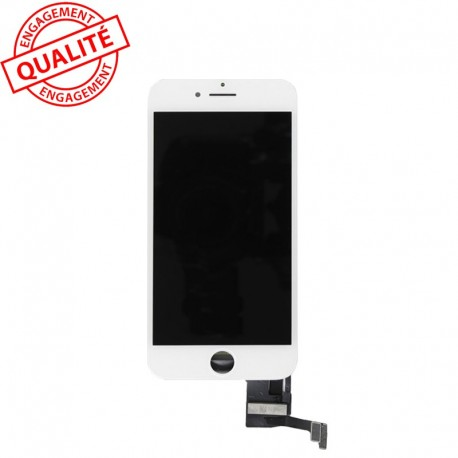 Ecran lcd iphone 8 blanc