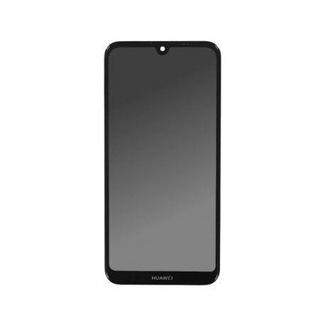 Ecran lcd Huawei Y7 2019 sur chassis noir