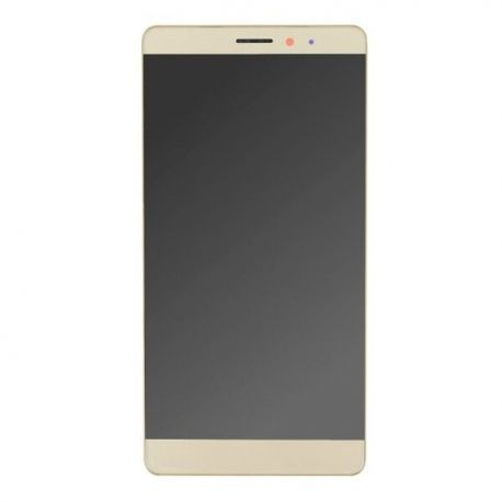 Ecran lcd Huawei Mate S sur chassis doré sans logo