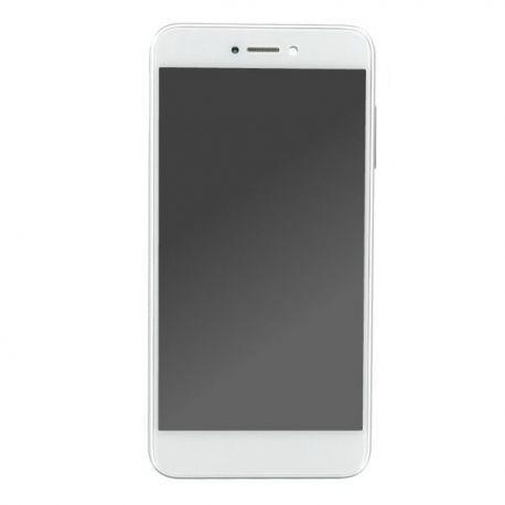 Ecran lcd Huawei P8 Lite 2017 sur chassis blanc sans logo