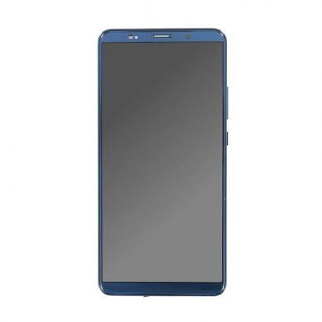 Ecran lcd Huawei Mate 10 Pro sur chassis bleu sans logo