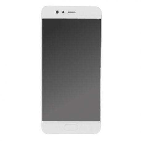 Ecran lcd Huawei P10 sur chassis blanc sans logo