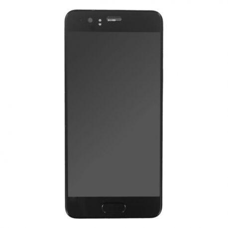 Ecran lcd Huawei P10 sur chassis noir sans logo