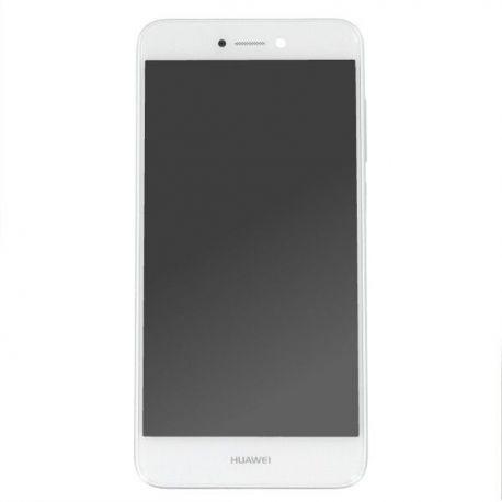 Ecran lcd Huawei P8 lite 2017 sur chassis blanc