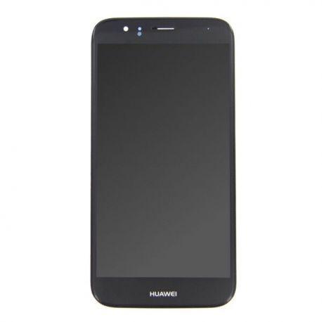 Ecran lcd Huawei Ascend G8 sur chassis noir