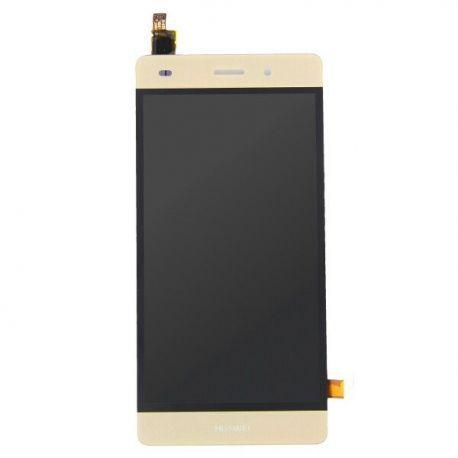 Ecran lcd Huawei P8 lite doré