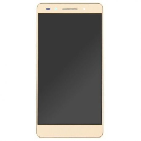 Ecran lcd Huawei Honor 7 sur chassis doré