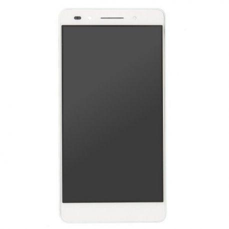 Ecran lcd Huawei Honor 7 sur chassis blanc