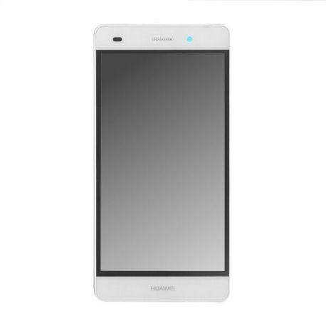 Ecran lcd Huawei P8 Lite sur chassis blanc
