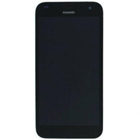 Ecran lcd Huawei Ascend G7 sur chassis noir