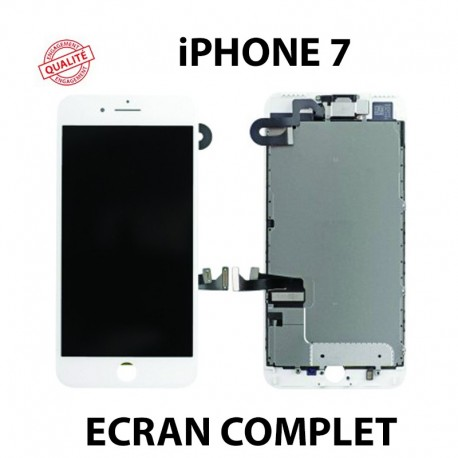 Ecran lcd iphone 7 blanc complet