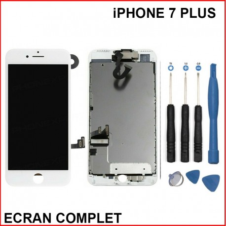 Ecran lcd iphone 7 plus blanc