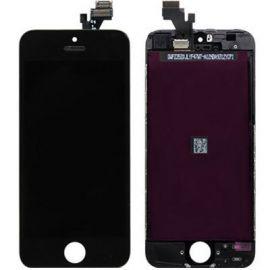 Vitre tactile + lcd pour iphone SE noir