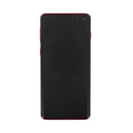 Ecran Samsung Galaxy S10 G973F rouge