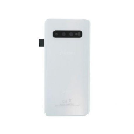 Vitre arrière Samsung Galaxy S10 Duos G973F/DS blanc
