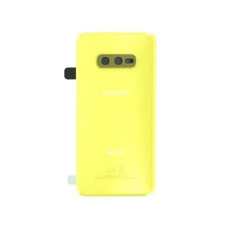 Vitre arrière Samsung Galaxy S10e Duos G970F/DS yellow