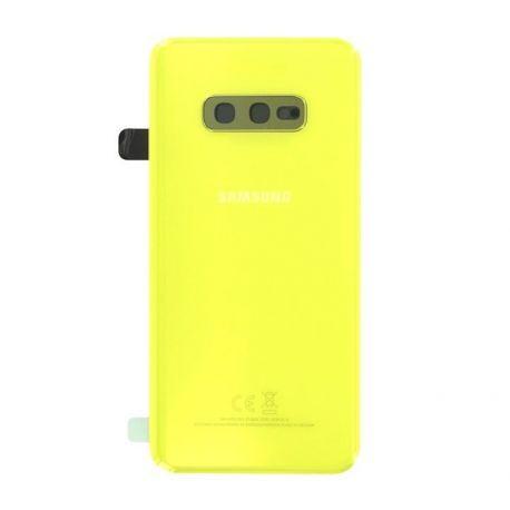 Vitre arrière Samsung Galaxy S10e G970F yellow