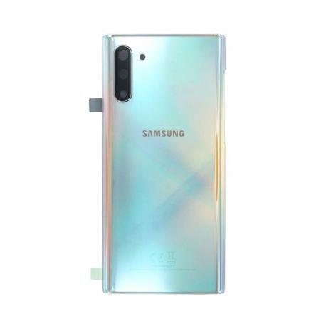 Vitre arrière Samsung Galaxy Note 10 SM-N970F argent
