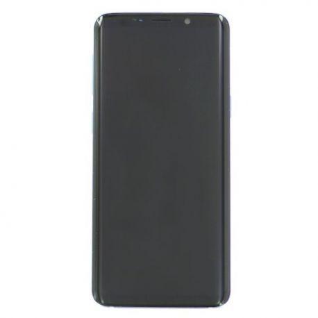 Ecran complet Samsung S9 G960F Bleu