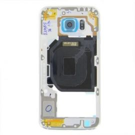 Samsung Galaxy S6 Middle Cover bleu
