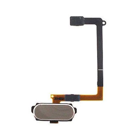 Nappe bouton home Samsung Galaxy S6 - Or